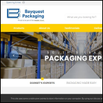 Screen shot of the Bayquest Ltd website.