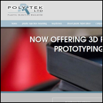 Screen shot of the Poly-Tek Ltd website.