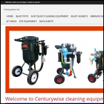 Screen shot of the Centurywise Ltd website.