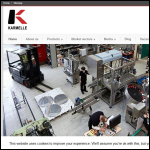 Screen shot of the Karmelle Ltd website.