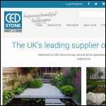 Screen shot of the CED Ltd website.