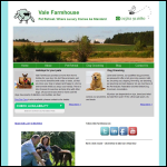Screen shot of the Vale Farm Services (Evesham) website.
