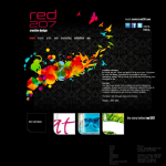Screen shot of the Red 207 Ltd website.