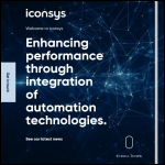 Screen shot of the Iconsys website.