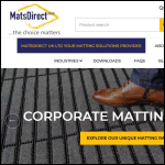 Screen shot of the MatsDirect UK Ltd website.
