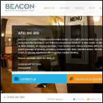 Screen shot of the Beacon Design & Contracting Services Ltd website.