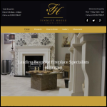 Screen shot of the Findley House Ltd website.