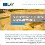 Screen shot of the GKL Group website.
