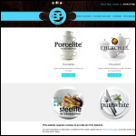 Screen shot of the Banks Pottery website.