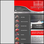 Screen shot of the Access Automation Ltd website.