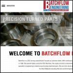 Screen shot of the Batchflow Engineering Ltd website.