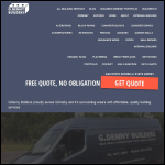 Screen shot of the Grimsby Plastering Services Ltd website.