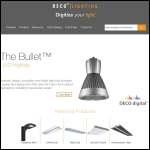 Screen shot of the Commercial & Industrial Lighting Solutions Ltd website.