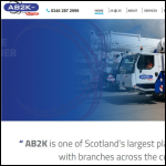 Screen shot of the AB 2000 Ltd website.