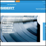 Screen shot of the Sibert Instruments Ltd website.