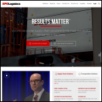 Screen shot of the Shelton Logistics Consulting Ltd website.