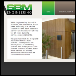 Screen shot of the Sbm Engineering (Watford) Ltd website.