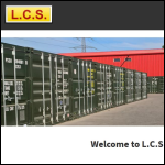 Screen shot of the LCS (Skip Repair, Self Store & Sales) Ltd website.