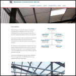 Screen shot of the Steelteam Construction UK Ltd website.