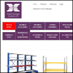 Screen shot of the Ossett Storage Systems Ltd website.