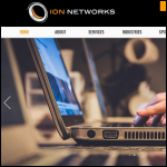 Screen shot of the IS Networks Ltd website.