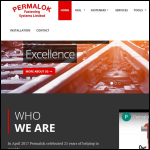 Permalok Fastening Systems Ltd website preview