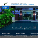 Screen shot of the Intopool website.