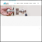Screen shot of the City Locksmith website.