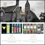 Screen shot of the Friary Liqueurs website.