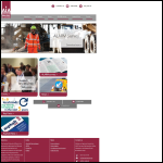 Screen shot of the Asphalt Industry Alliance (AIA) website.