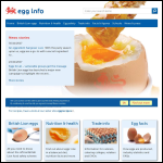 Screen shot of the British Egg Products Association (BEPA) website.