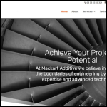 Screen shot of the Mackart Engineering Ltd website.