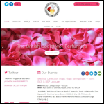 Screen shot of the British Society of Perfumers (BSP) website.