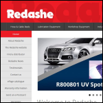 Screen shot of the Redashe Ltd website.