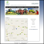 Screen shot of the NB Seed Processors Ltd website.