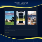 Screen shot of the Wright-Manley website.