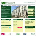 Screen shot of the Angela Hirst, Surveyors & Valuers website.