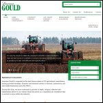 Screen shot of the Laurence Gould Partnership Ltd website.