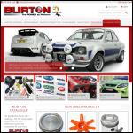 Screen shot of the Burton, Paul Engineering website.