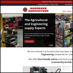 Screen shot of the Hargrave Agriculture Ltd website.