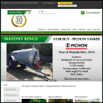 Screen shot of the Masons Kings website.