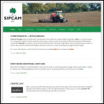 Screen shot of the Sipcam UK Ltd website.