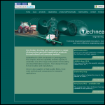 Screen shot of the Techneat Engineering Ltd website.