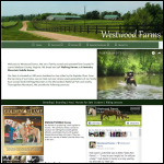 Screen shot of the Westwood Farm Services website.