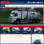 Screen shot of the Allan Fuller Ltd website.
