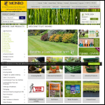 Screen shot of the Monro Horticulture Ltd website.