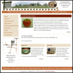 Screen shot of the Pickhurst Farm Services website.
