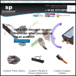 Screen shot of the Servicepower Ltd website.