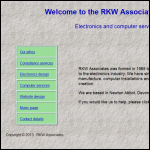 Screen shot of the RKW Associates website.