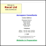 Screen shot of the Racal Messenger website.